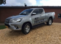 Toyota HiLux Extra Cab 2,4 D-4D T3 Safety Sense 4x4 150HK Pick-Up