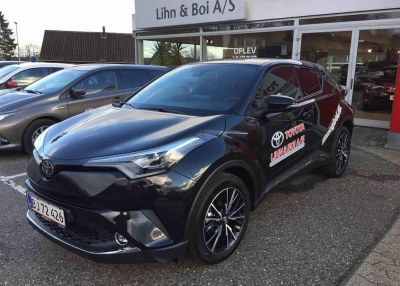 Toyota C-HR 1,2 T C-HIC LED - Sound 116HK 5d 6g
